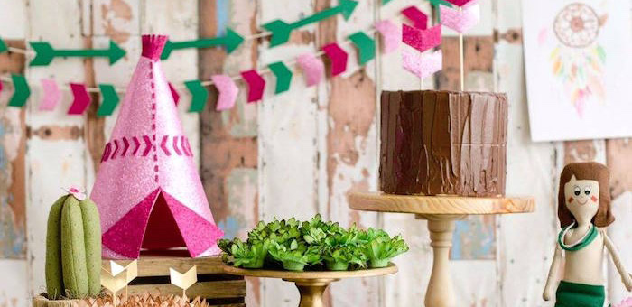 Tribal Cactus Birthday Party on Kara's Party Ideas | KarasPartyIdeas.com (2)