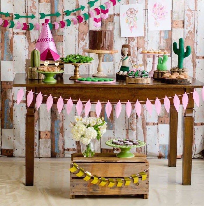 Tribal Cactus Birthday Party on Kara's Party Ideas | KarasPartyIdeas.com (20)