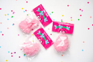 Troll favor tags from a Trolls Birthday Party with FREE Printables on Kara's Party Ideas | KarasPartyIdeas.com (8)