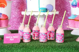 Magical Music Milk from a Trolls Birthday Party with FREE Printables on Kara's Party Ideas | KarasPartyIdeas.com (7)