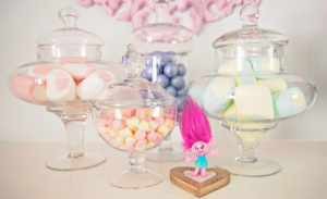 Candy buffet from a Trolls Inspired Birthday Party on Kara's Party Ideas | KarasPartyIdeas.com (20)