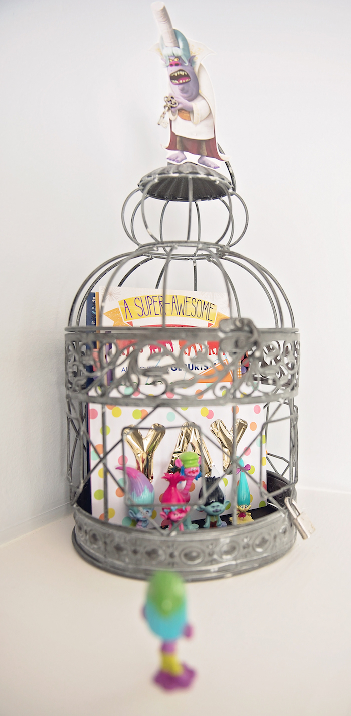 Cage of trolls from a Trolls Inspired Birthday Party on Kara's Party Ideas | KarasPartyIdeas.com (18)