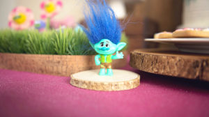 Branch figurine from a Trolls Inspired Birthday Party on Kara's Party Ideas | KarasPartyIdeas.com (30)