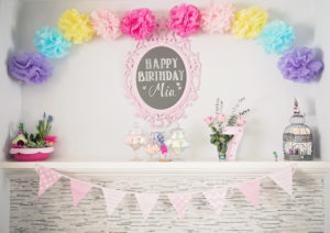 Candy buffet from a Trolls Inspired Birthday Party on Kara's Party Ideas | KarasPartyIdeas.com (5)