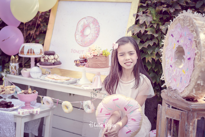 Vintage Donut Shop Birthday Party on Kara's Party Ideas | KarasPartyIdeas.com (38)
