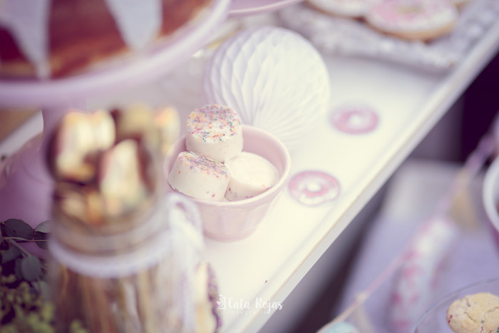 Sweets from a Vintage Donut Shop Birthday Party on Kara's Party Ideas | KarasPartyIdeas.com (8)