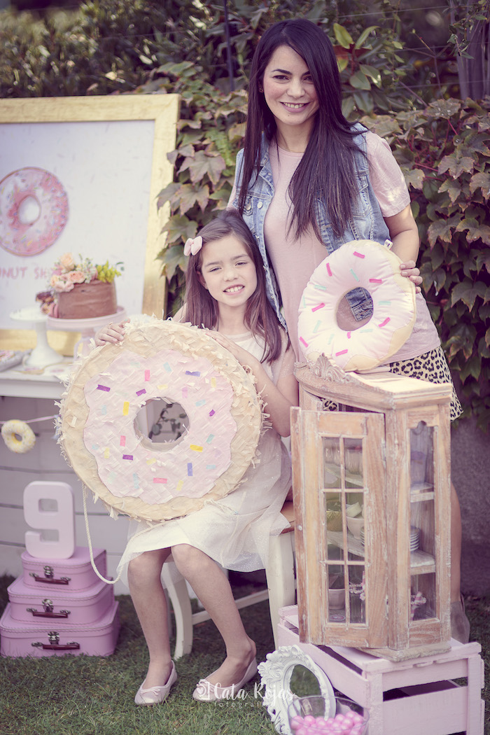 Vintage Donut Shop Birthday Party on Kara's Party Ideas | KarasPartyIdeas.com (6)