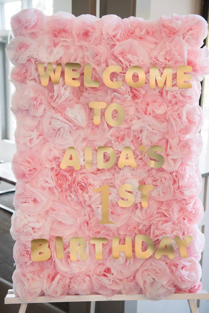 Kara S Party Ideas Vintage First Birthday Tea Party Kara