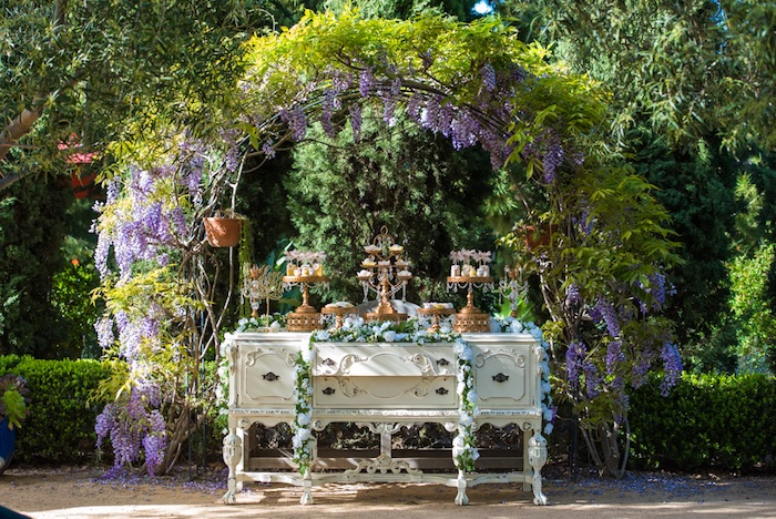 Vintage Garden Party On Karau0027s Party Ideas | KarasPartyIdeas.com (17)