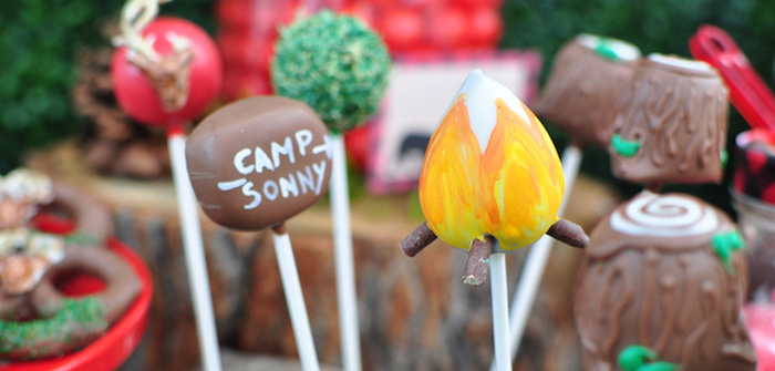 Winter Camping Themed Birthday Party on Kara's Party Ideas | KarasPartyIdeas.com (2)