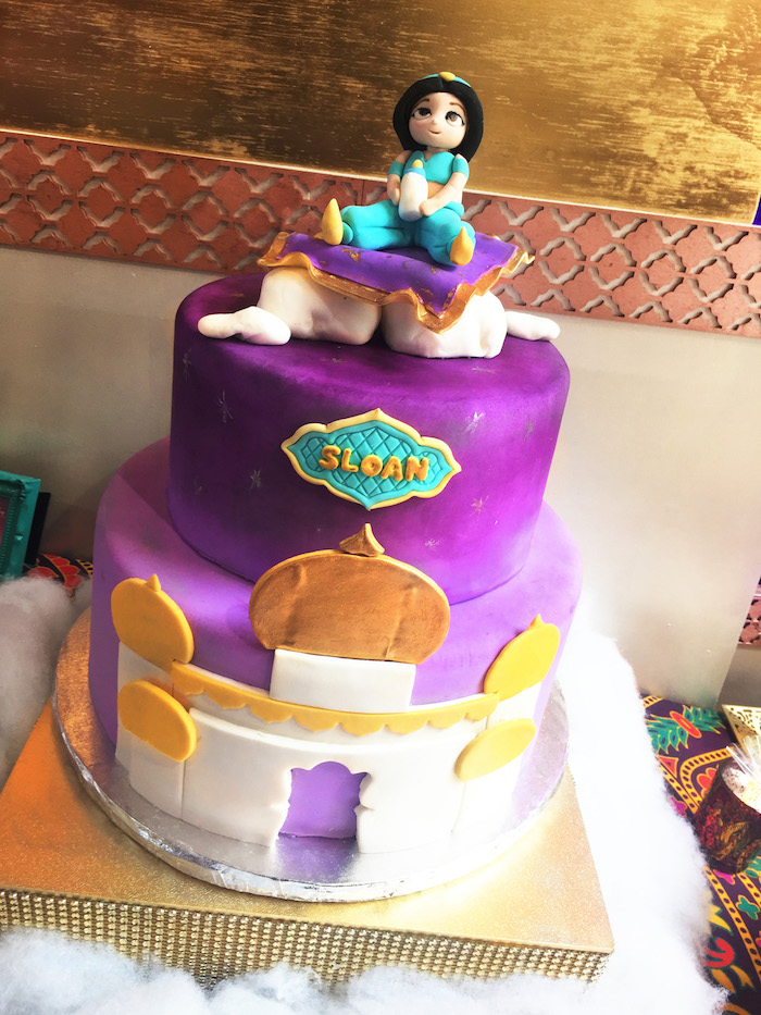 "Kara's Party Ideas ""A Whole New World"" Aladdin Birthday ..."