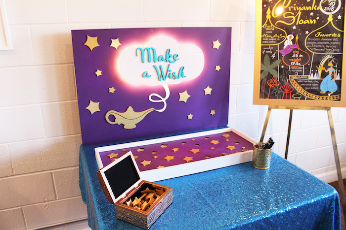 Kara S Party Ideas Quot A Whole New World Quot Aladdin Birthday