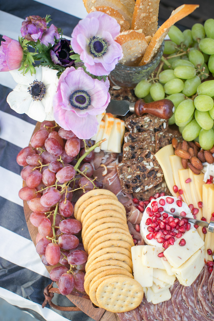 "Fruit & cheese plate from a ""Guardians of the Galaxy"" Birthday Party on Kara's Party Ideas 