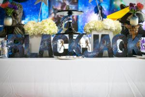 """Lettering from a """"Guardians of the Galaxy"""" Birthday Party on Kara's Party Ideas 