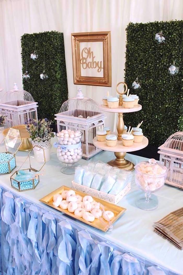 """Oh Baby"" Boy Baby Shower on Kara's Party Ideas | KarasPartyIdeas.com (12)"
