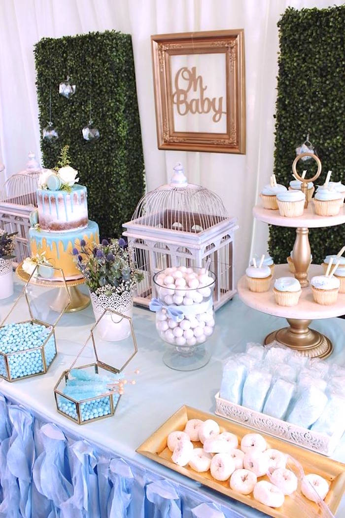 baby shower decorations for boys kara s ideas quot oh baby quot boy baby shower 29425