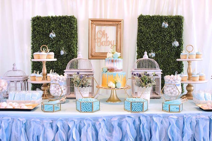 """Oh Baby"" Boy Baby Shower on Kara's Party Ideas | KarasPartyIdeas.com (23)"