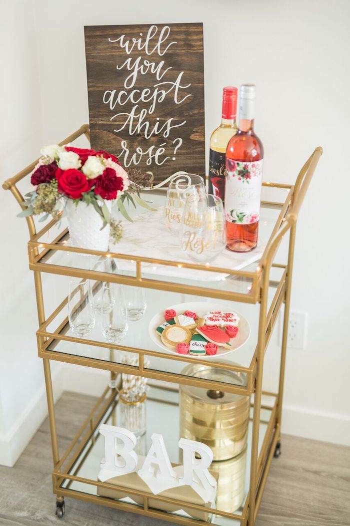 """The Bachelor"" Viewing Party on Kara's Party Ideas 