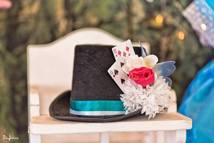 Alice in Wonderland Birthday Party on Kara's Party Ideas | KarasPartyIdeas.com (4)