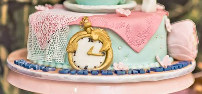 Alice in Wonderland Birthday Party on Kara's Party Ideas | KarasPartyIdeas.com (1)