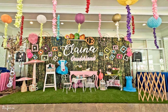 Alice in Wonderland Birthday Party on Kara's Party Ideas | KarasPartyIdeas.com (28)