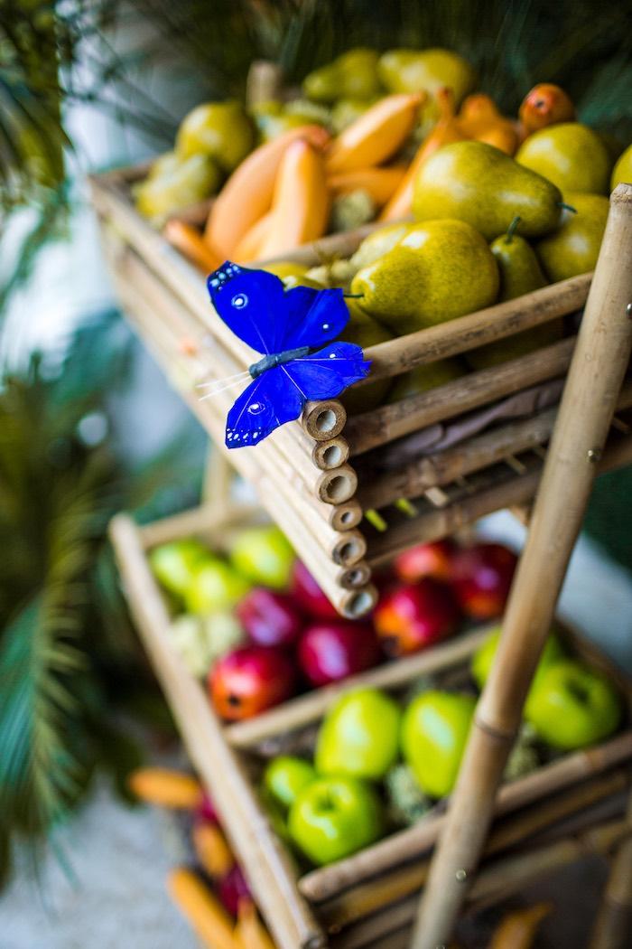 Butterfly from an American Girl Doll Lea Clark - Rainforest Birthday Party on Kara's Party Ideas   KarasPartyIdeas.com (24)