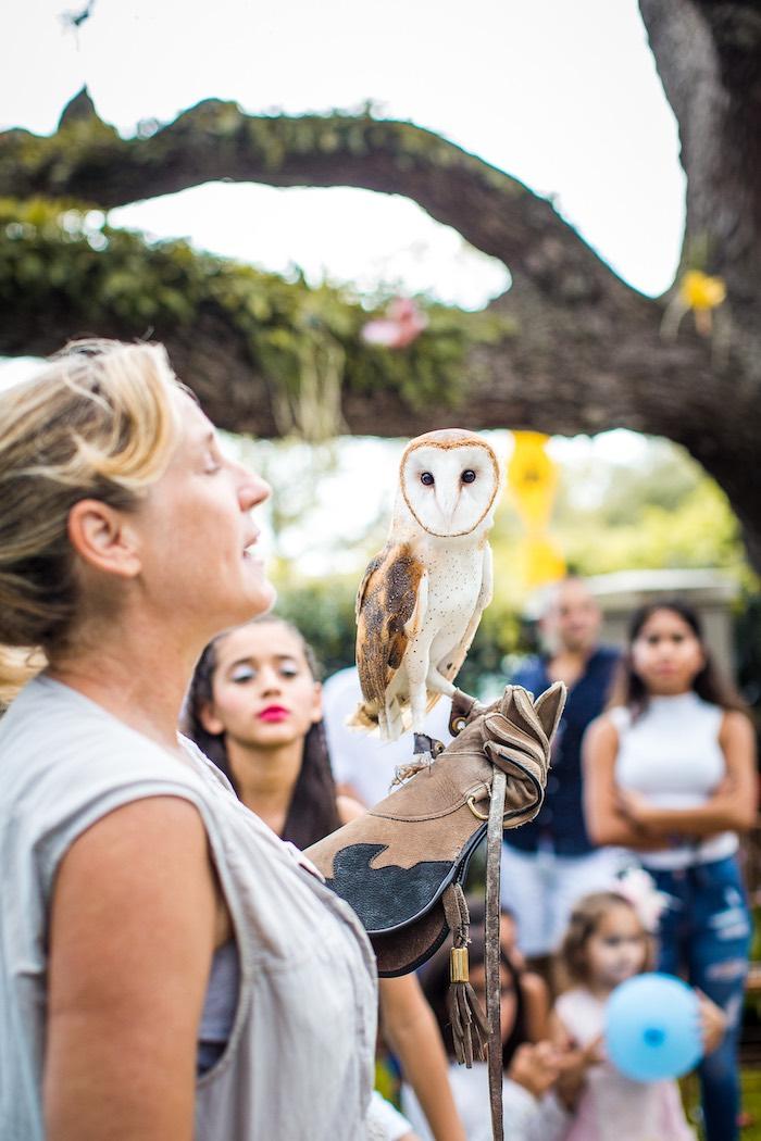 Animal show from an American Girl Doll Lea Clark - Rainforest Birthday Party on Kara's Party Ideas   KarasPartyIdeas.com (9)