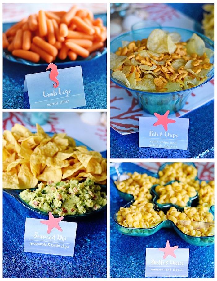 Food from An Under the Sea Bash on Kara's Party Ideas   KarasPartyIdeas.com (11)