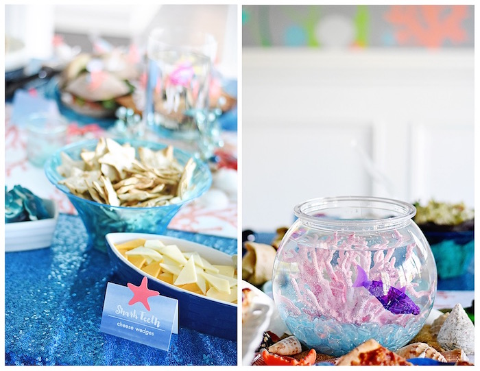 Fish bowl from An Under the Sea Bash on Kara's Party Ideas   KarasPartyIdeas.com (10)