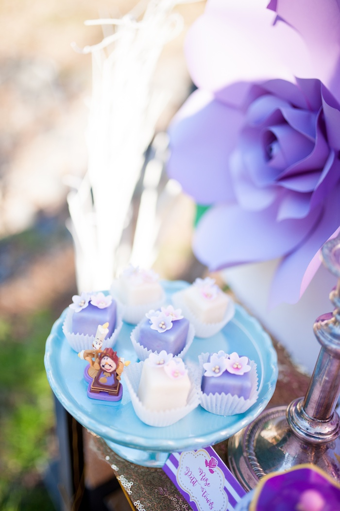 Cogsworth sweets from a Beauty and the Beast Garden Party on Kara's Party Ideas | KarasPartyIdeas.com (26)