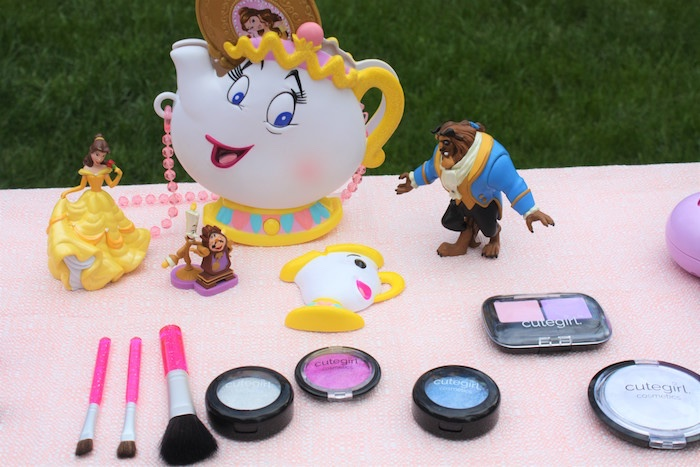 Beauty and the Beast Beauty Bar from a Beauty and the Beast Garden Party on Kara's Party Ideas | KarasPartyIdeas.com (35)