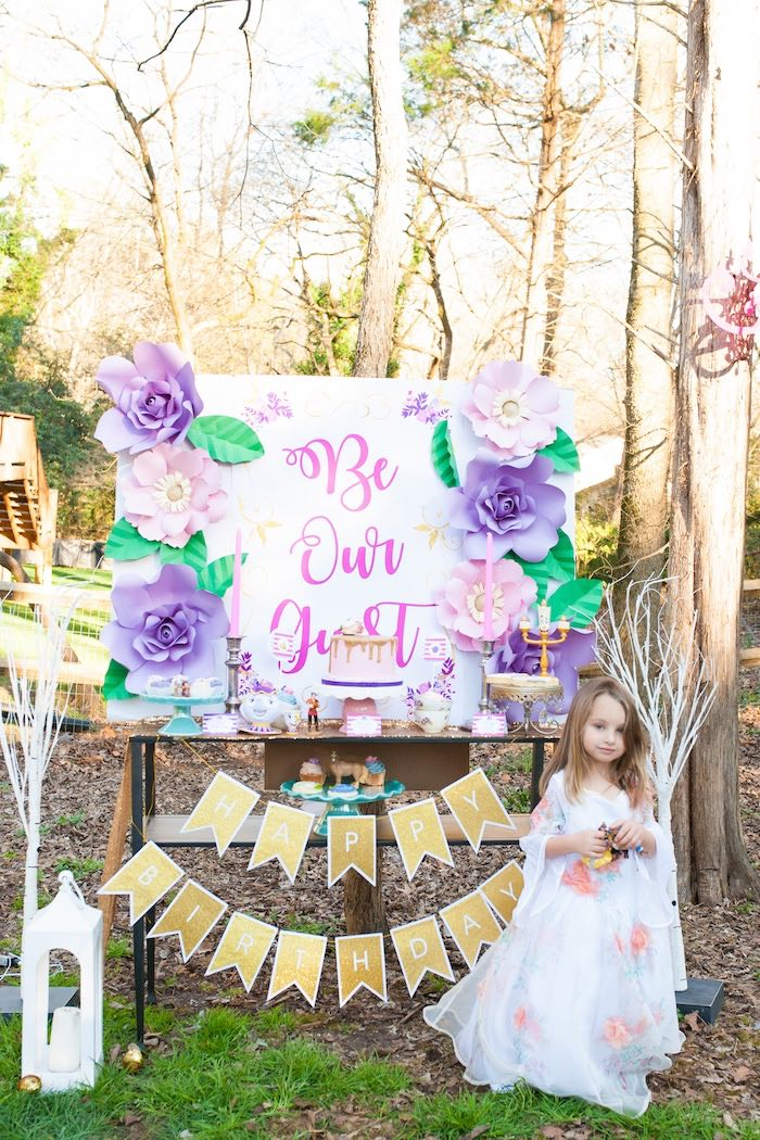 Beauty and the Beast Garden Party on Kara's Party Ideas | KarasPartyIdeas.com (12)