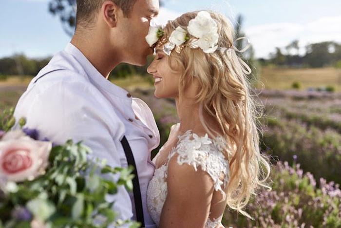 Boho Outdoor Wedding on Kara's Party Ideas | KarasPartyIdeas.com (21)