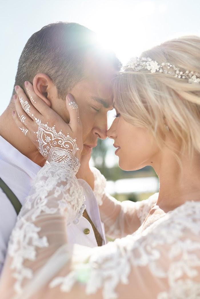 Boho Outdoor Wedding on Kara's Party Ideas | KarasPartyIdeas.com (20)