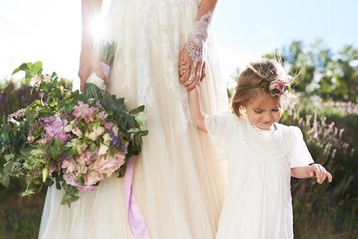 Boho Outdoor Wedding on Kara's Party Ideas | KarasPartyIdeas.com (17)