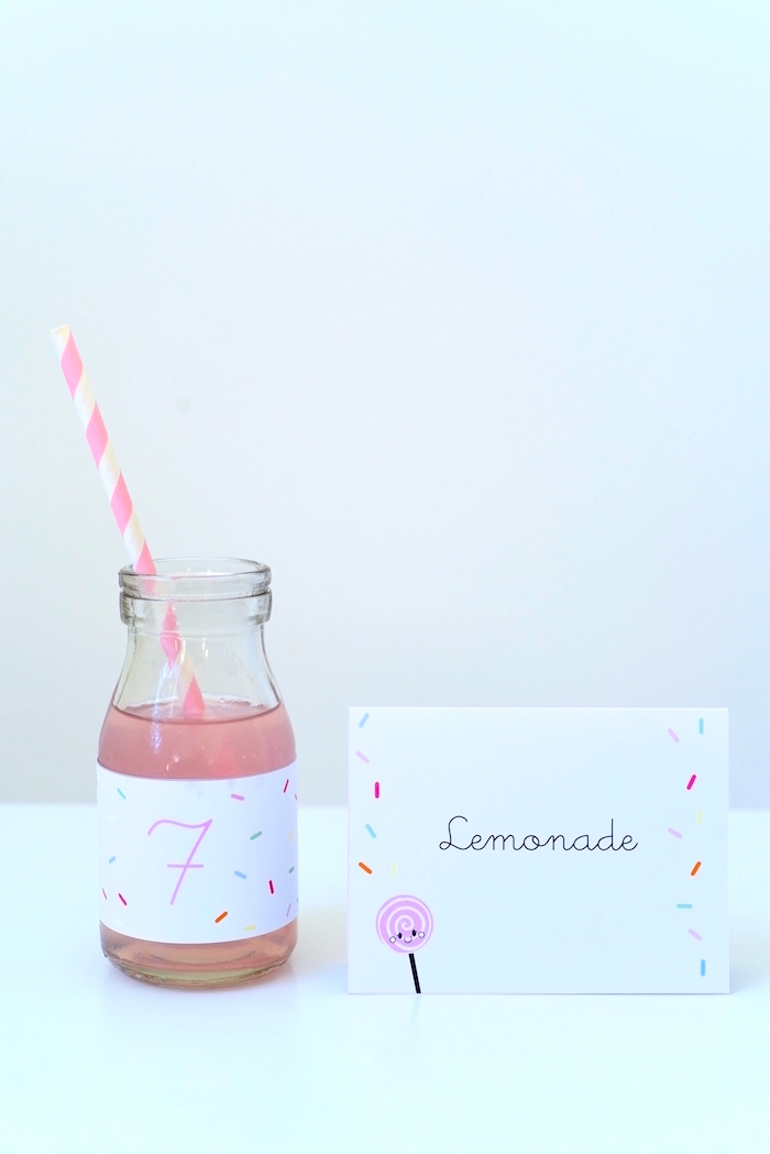 Lemonade from a Candy Parade Birthday Party on Kara's Party Ideas | KarasPartyIdeas.com (22)