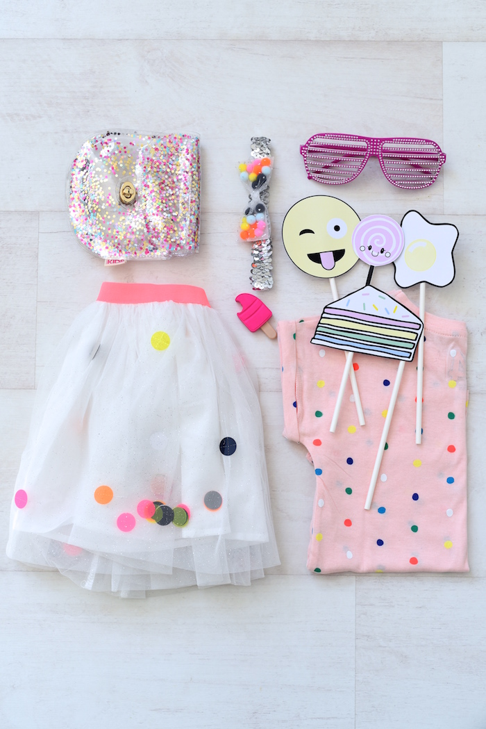 Outfit from a Candy Parade Birthday Party on Kara's Party Ideas | KarasPartyIdeas.com (32)