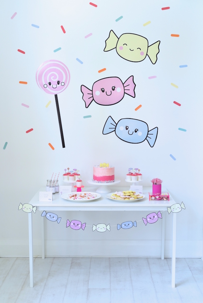 Candy Parade Birthday Party on Kara's Party Ideas | KarasPartyIdeas.com (8)