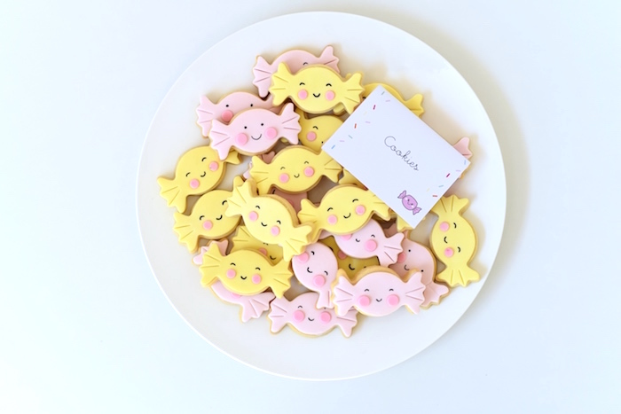 Cookies from a Candy Parade Birthday Party on Kara's Party Ideas | KarasPartyIdeas.com (31)