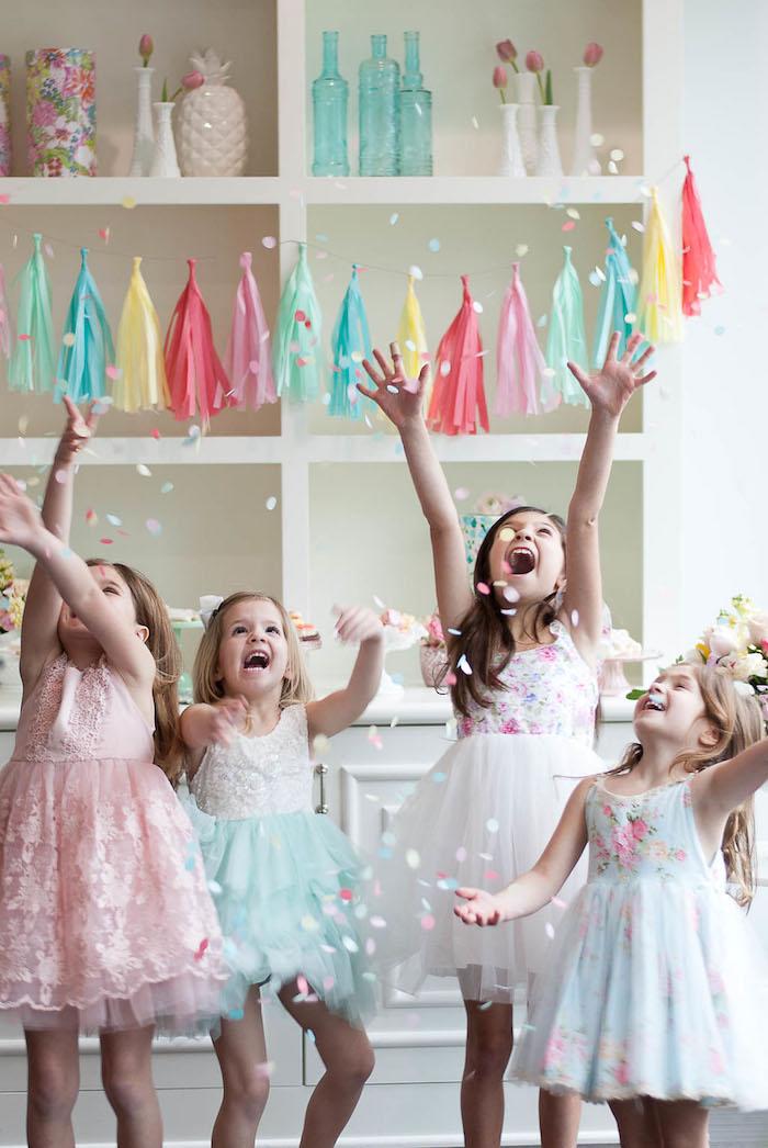 Colorful Garden Party on Kara's Party Ideas | KarasPartyIdeas.com (7)