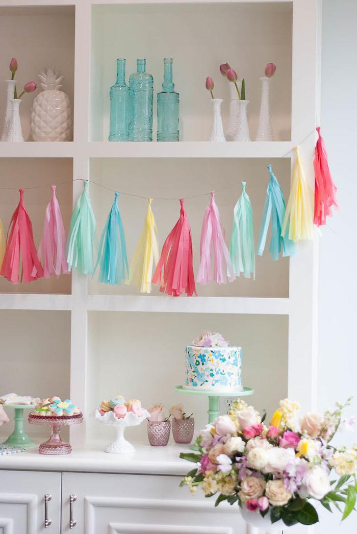 Colorful Garden Party on Kara's Party Ideas | KarasPartyIdeas.com (34)
