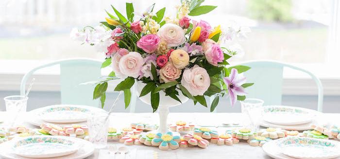Colorful Garden Party on Kara's Party Ideas   KarasPartyIdeas.com (4)