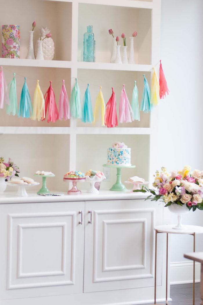 Colorful Garden Party on Kara's Party Ideas | KarasPartyIdeas.com (28)