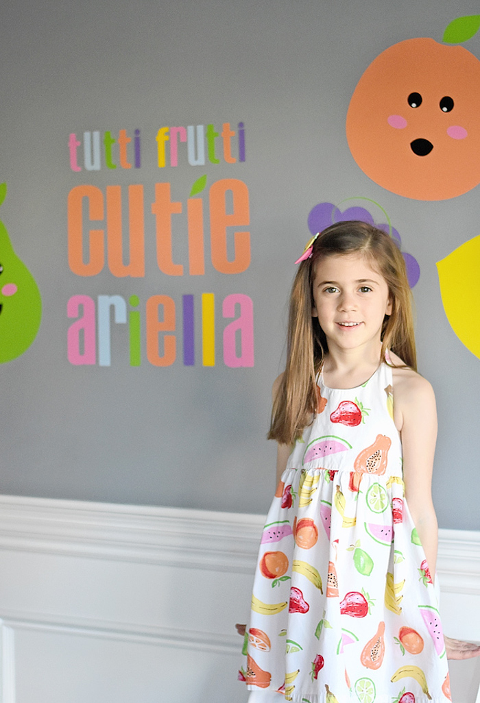 Colorful Tutti Frutti Birthday Party on Kara's Party Ideas | KarasPartyIdeas.com (39)