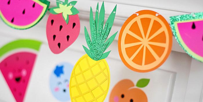 Colorful Tutti Frutti Birthday Party on Kara's Party Ideas | KarasPartyIdeas.com (1)