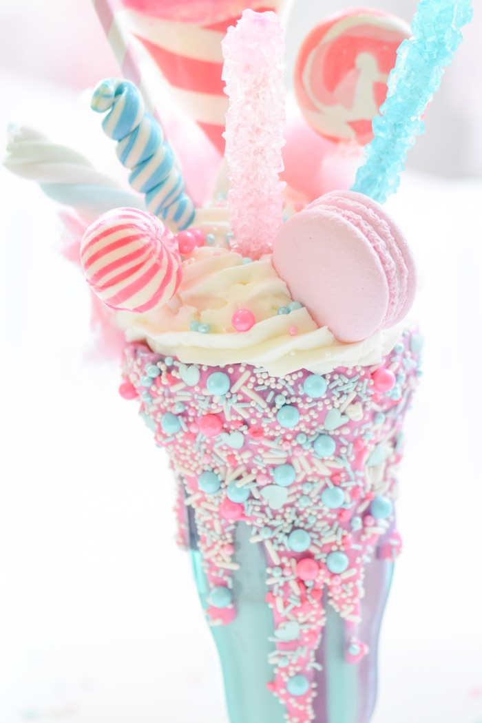 Kara S Party Ideas Cotton Candy Freak Shake Kara S Party