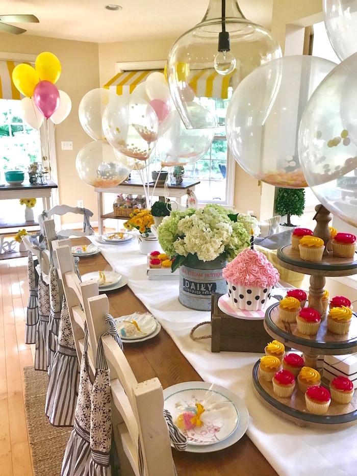 Cupcake Wars Birthday Party on Kara's Party Ideas | KarasPartyIdeas.com (10)