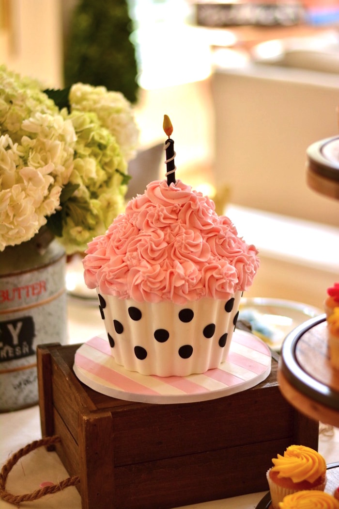 Cupcake Wars Birthday Party on Kara's Party Ideas | KarasPartyIdeas.com (5)