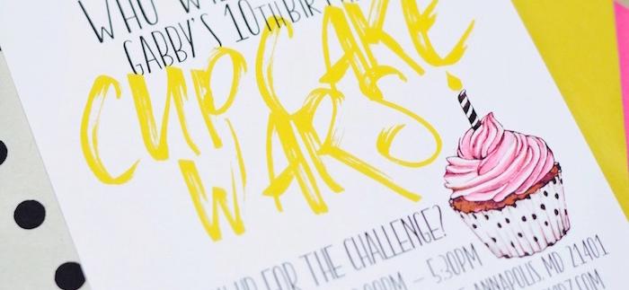Cupcake Wars Birthday Party on Kara's Party Ideas   KarasPartyIdeas.com (2)