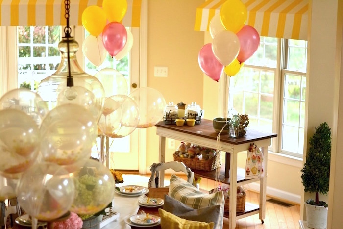 Prep station from a Cupcake Wars Birthday Party on Kara's Party Ideas | KarasPartyIdeas.com (25)